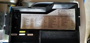 details about 61131387613 92 02 bmw z3 3 series fuse box panel cover e36 1987 bmw 325i fuse box diagram bmw z3 fuse box #13