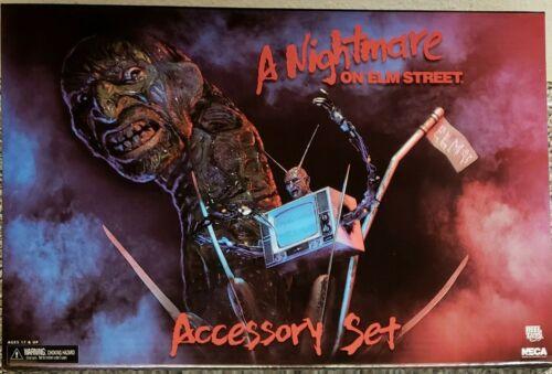 ACCESSORY SET, FREDDY BRAND NEW A NIGHTMARE ON ELM STREET NECA