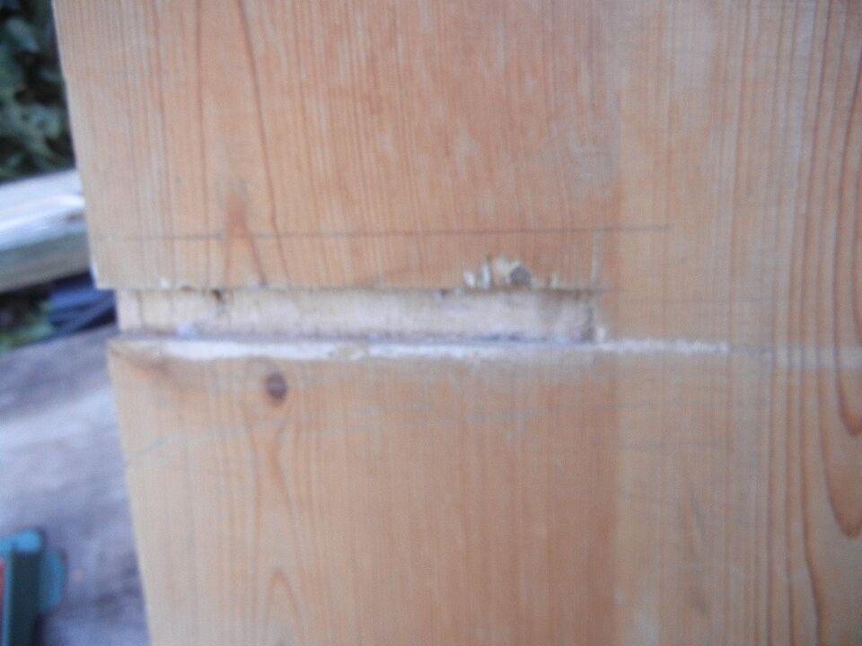 Natbord, RETRO - lille væghængt skab / natbord / sengeskab
