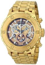Invicta Mens Reserve Specialty Subaqua COSC Chronometer Certified 18k GP Watch
