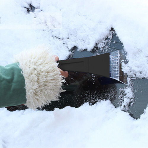 1x Snow Removal Tool Frost Shovel Subzero Auto Emergency For Cars Winter Plastic
