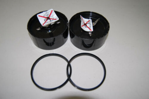 Original Magic Bullet 2X Cross Blades with Gaskets Replacement Blender Part