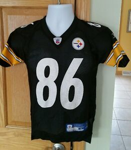 a430556339d VINTAGE PITTSBURGH STEELERS YOUTH SMALL(8) H.WARD REEBOK ON FIELD ...