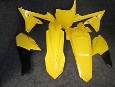 Yamaha YZF250 YZF450 2014-2016 X-Diversión Kit Plástico Amarillo todos Completo PK5014