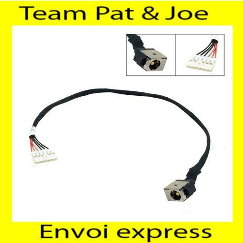 Connecteur alimentation Dc Power Jack Cable ASUS F751 X751L