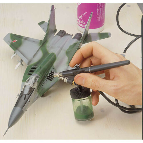 Air Brush Pen Artist Colouring Spray Paint Kit Architecture Model Craft Ship 0.8