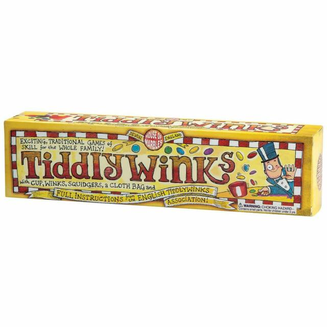 Classic Tiddlywinks Tiddly Winks Kids Family Traditional Skill Board Game Toy