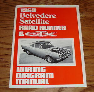1969 plymouth belvedere satellite road runner gtx wiring diagram rh ebay com