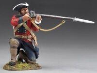 Thomas Gunn French & Indian War Fiw006 British Redcoat Kneeling Firing