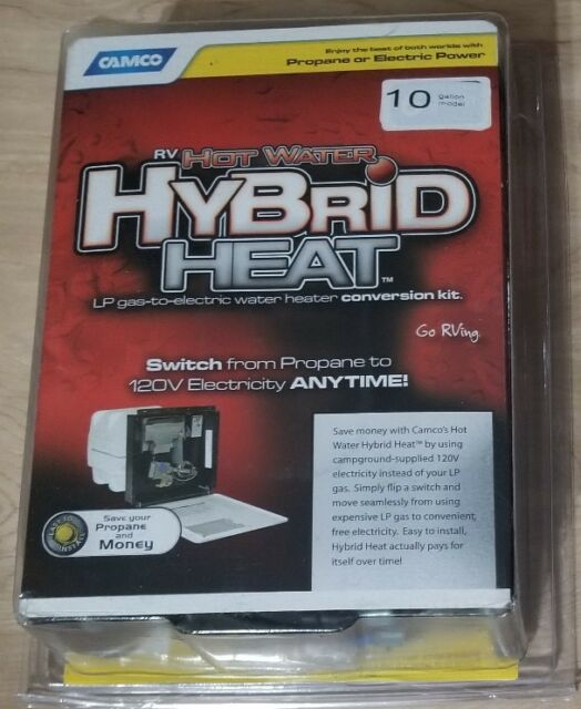 Camco 11674 /'Hybrid Heat/' Replacement Hot Water Heater Element 6 Gallon