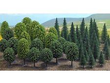 Busch 6491 Mischwald  50 Bäume Spar Packung Tannen Laubbäume H0 Neu