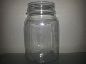 75a6ea06b5f7 Details about 25 16 OZ Plastic Mason Jars & 25 Solid Plastic Lids BPA FREE!  ~MADE IN THE USA~