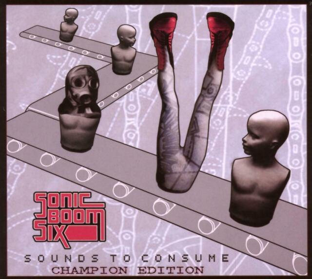 Sonic Boom Six – Sounds To Consume: Champion Edition DIGIPAK