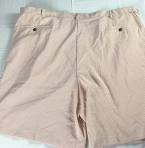 Haggar-Shorts-Mens-46-48-50-52-NEW-Pinstripe-Golf-Casual-Seersucker-Lightweight