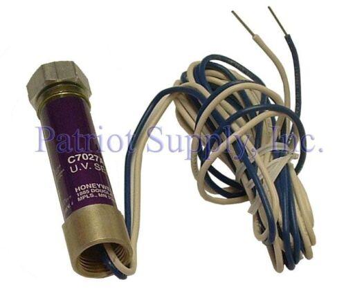 HONEYWELL C7027A1049 Flame Sensor NEW! Ultraviolet Minipeeper.C7027A1049C