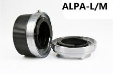 Leicaist ALPA lens to Leica M LM camera adapter for M240 M9 with TECHART LM-EA7