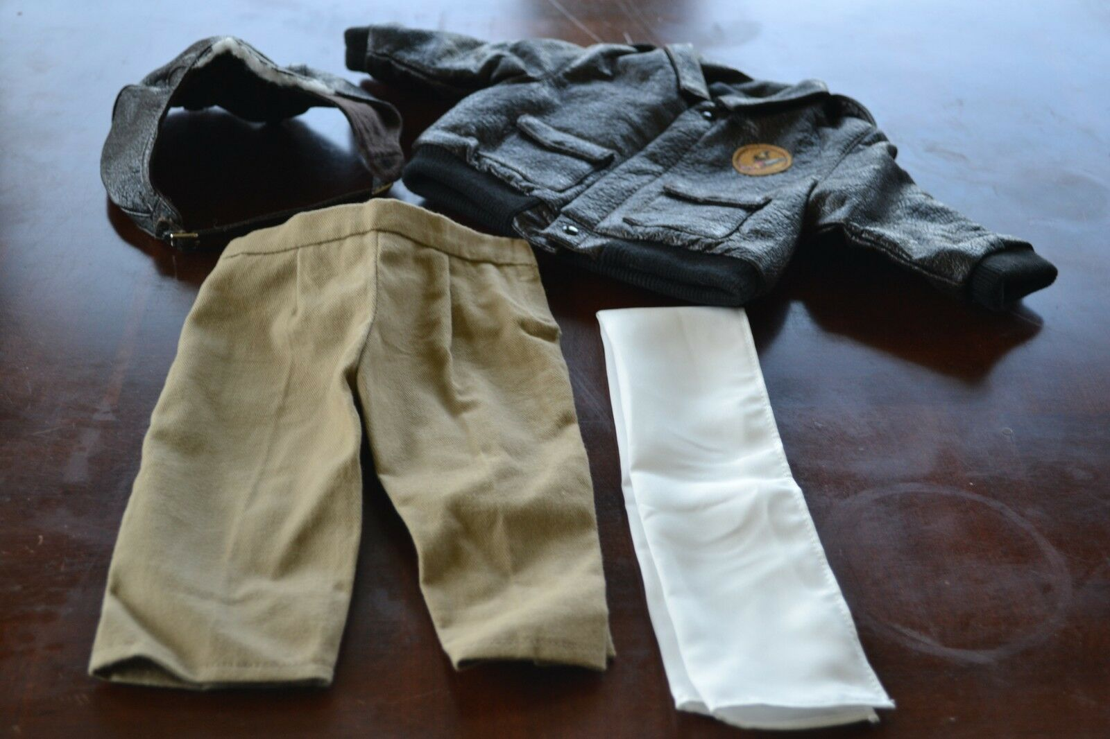 American Girl Molly Aviator Outfit - Tagged Pleasant Co.