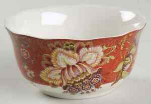 222-Fifth-GABRIELLE-Red-Cereal-Bowl-8784844