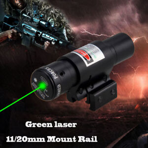 Airsoft-Red-Green-Dot-LASER-SIGHT-Scope-Airsoft-Weaver-Picatinny-Mount