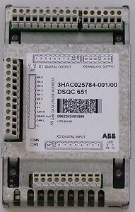 ABB-IRC5-Controller-analog-I-O-Unit-DSQC-651-3HAC025784-001