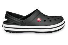 Crocs Adulti Sport Tempo Libero Clog Crocband TM Nero Bianco