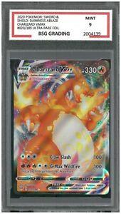 Charizard VMAX - 020/189 - Ultra Rare Sword & Shield: Dark. Ablaze ~ Graded 9 MT