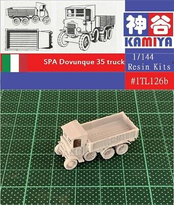 1//144 WWII Italian Lancia 3RO Water Tanker Resin Kit