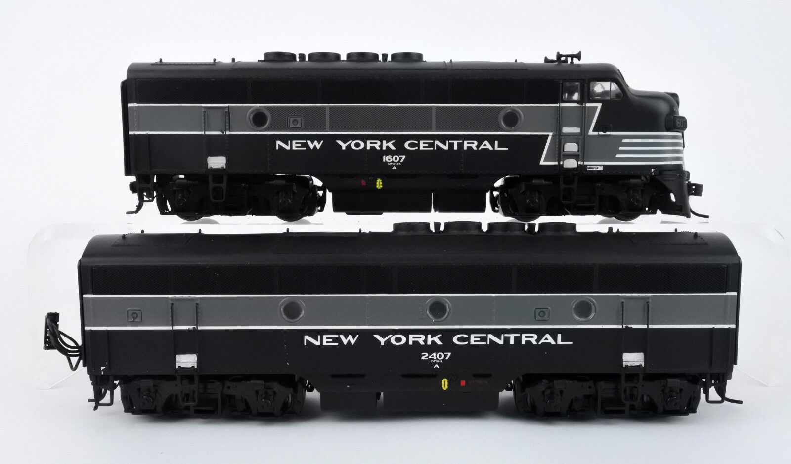 PRECISION HO SCALE 322 NEW YORK YORK YORK CENTRAL F3 A-B DIESEL ENGINE SET 3fc7c6