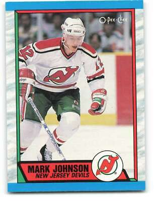 O-Pee-Chee #112 Mark Johnson Hockey 198687