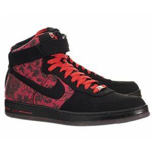 Air Red High Hi Downtown Floral Nike Garden Qs Kd Force 1 Black Rose CxthodBQsr