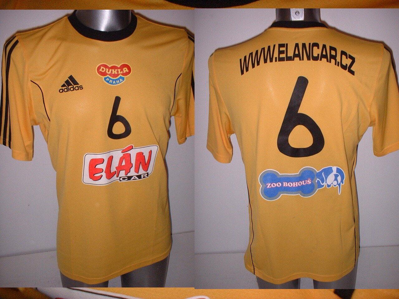 Dukla Prague Praha Adult Medium Adidas Shirt Jersey Player Handball Top Match