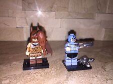LEGO THE BATMAN MOVIE MINIFIGURE SET OF 2 ZODIAC MASTER & BATMAN CAVEMAN