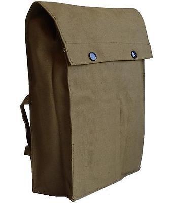 Shoulder Messenger Military Vintage Bag Army Surplus Haversack Retro Satchel