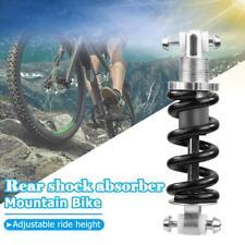 New MTB Bicycle Bike Rear Shock Adjustable Damping 1500LBS//IN 185mm Black
