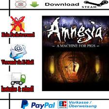 Amnesia A Machine for Pigs PC Action NEU Deutsch/Multilanguage Steam-Gift-Link