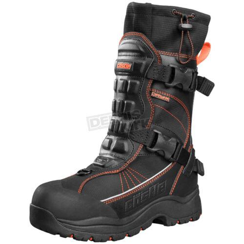 Castle X Orange//Black Barrier 2 Boots Size 7
