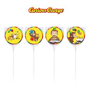 24-PBS-Curious-George-Stickers-Labels-Bag-Lollipop-Party-Favors