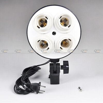 New Studio Light Head with Four E27(26) Socket Umbrella Hole