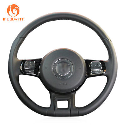 FITS VW NEW BEETLE QUALITY LEATHER STEERING WHEEL COVER