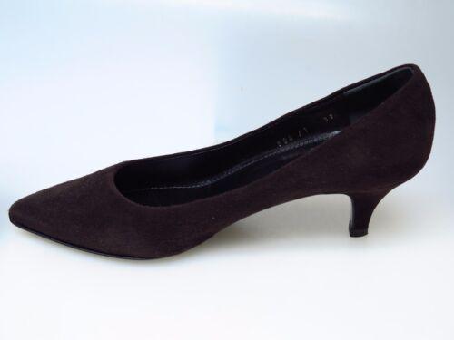 Designer Schuhe 37 moro Sultana Neu Sara Camoscio N3308 Gr T Nizza Damenschuhe 57BBqwdR