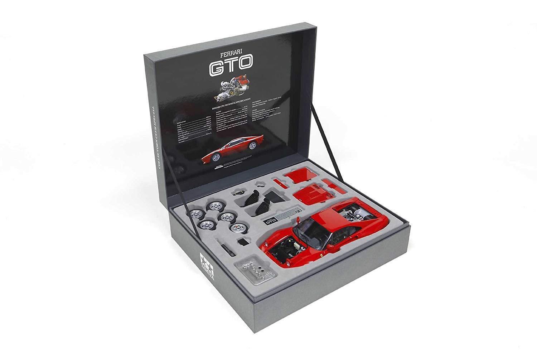 1  12 samlaor s Club särskild No. 11 Ferrari 288GTO Halvmonterad modelllllerl Tamiya
