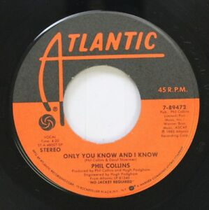 Rock-45-Phil-Collins-Only-You-Know-And-I-Know-Take-Me-Home-On-Atlantic