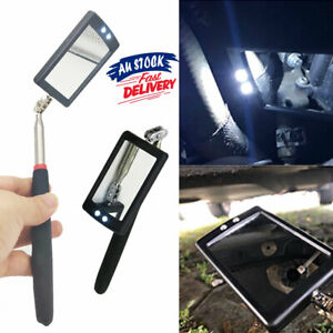 LED-Inspection-Mirror-illuminate-Extendable-Telescoping-Swivel-Light-Lighted