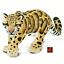 NUOVO LTD per 2019 * Leopardo Nebuloso Fauna Selvatica giocattolo modellino da SAFARI 100239