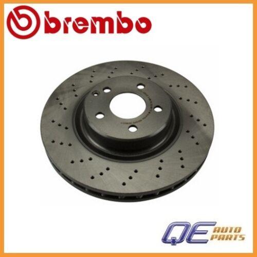 Mercedes W211 R230 E350 E500 E550 SL500 SL550 Front Brake Disc Brembo 25785 For