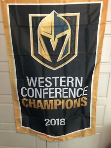 2018-Vegas-Golden-Knights-Inaugural-Season-Trading-Cards-Conf-Champions-Banner