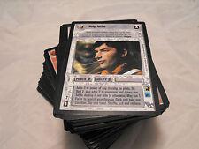 STAR WARS CCG A NEW HOPE BLACK BORDER, COMPLETE MASTER SET OF 180 CARDS