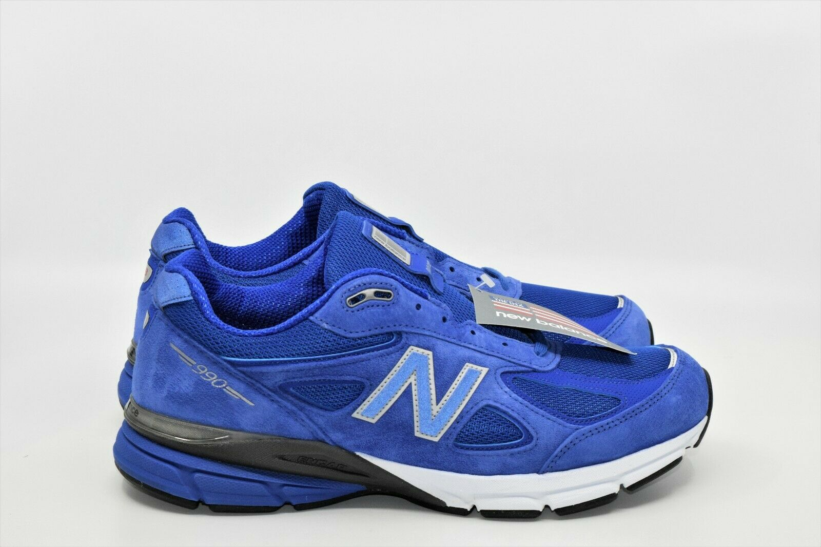 990v4 Real Azul Negro New Balance Heritage Talla 12 2E Nuevo