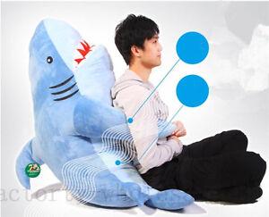 Shark Pillow giant huge shark stuffed animals plush soft toys doll pillow sofa