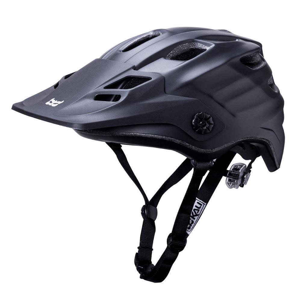 Tutte le Montagne Mountain Bike Enduro Cycle Casco Kali Maya Nero OPACO